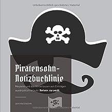 Piratensohn-Notizbuchlinie: Meuterei und das Hinterlassen von Einträgen ausdrücklich erlaubt (Variante: eye patch)