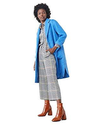 MANGO - Cotton wool-blend coat