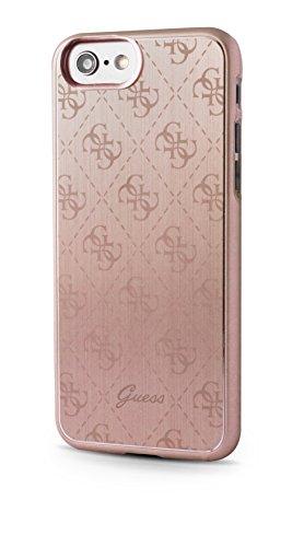 Guess GUHCP7MEPI 4G Aluminium platte Hart Schutzhülle für Apple iPhone 7 rose gold rose gold