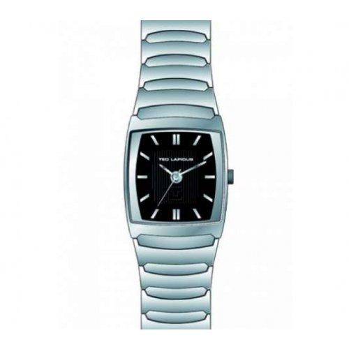 Ted Lapidus - 5121101 - Montre Homme - Quartz Analogique - Cadran - Bracelet Acier Argent