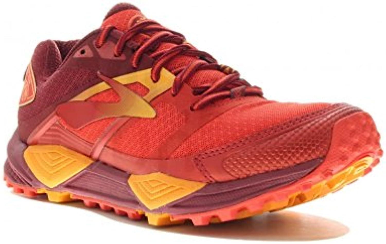 Brooks Scarpe da Trail Running Donna Rosso Scarlet arancia | Nuovo Stile  | Scolaro/Ragazze Scarpa