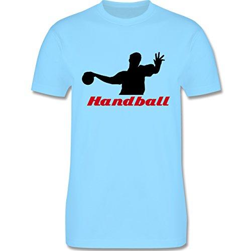 Handball - Handball - Herren Premium T-Shirt Hellblau