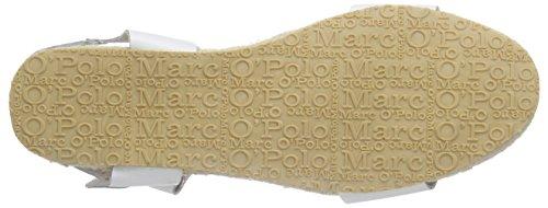 Marc O'Polo Espandrilles Sandal, Espadrilles femme Blanc - Blanc (100)