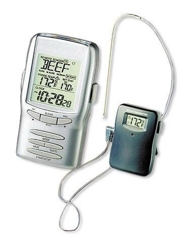 Joe's Barbeque Smoker & muenkel.eu Remote Cooking Thermometer (Fleisch Funk Thermometer)
