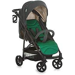 Hauck Rapid 4X Silla de paseo ligera desde nacimiento hasta 25 kg, Niños, Caviar y emerald