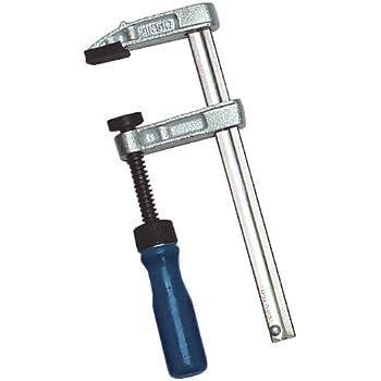 rembourrage pivotant et barre coulissante pour un montage rapide et facile Hi-Spec Lot de 3 serre-joints pour charges lourdes avec ouvertures de 25 mm 50 mm et 75 mm de large