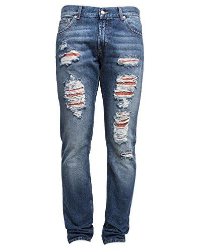alexander-mcqueen-mens-452994qizr80903-light-blue-cotton-jeans