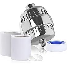 Filtro para Ducha Universal GrandBeing 12 Etapas Filtro Purificador Ducha y Enviar un Núcleo Reemplazable para Cuide Su Piel Cabello y Cuerpo Salud