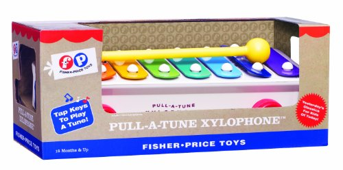 Fisher-Price BFI1702 Classics Pull a Tune Xylophone Spielzeug, Multi