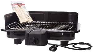 Severin - 2791 - Barbecue grill de table XXL - 2500 W - pare-vent - thermostat - noir