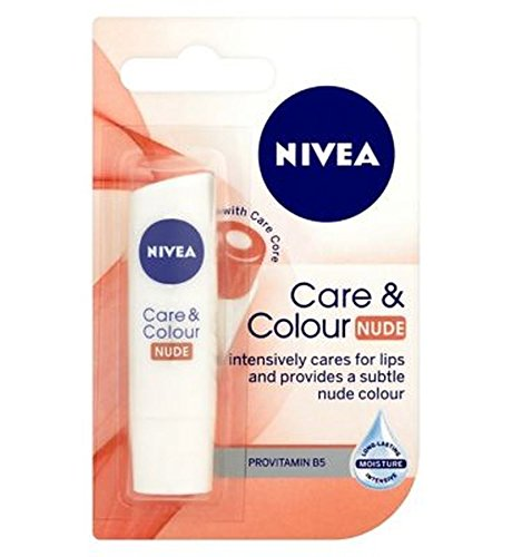 Nivea Lip Care & Farbe Nude 4,8 G (Nivea Essential Lip Care)