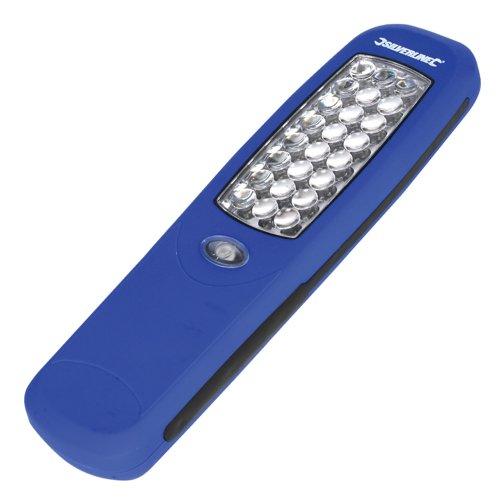 Silverline 564789 - Linterna magnética 24 LED