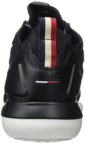 Tommy Hilfiger Herren B2385olt 1c Low-Top Schwarz (Black 990)