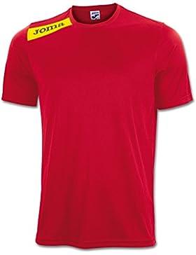 Joma - Camiseta victory rojo-amarillo m/c para hombre