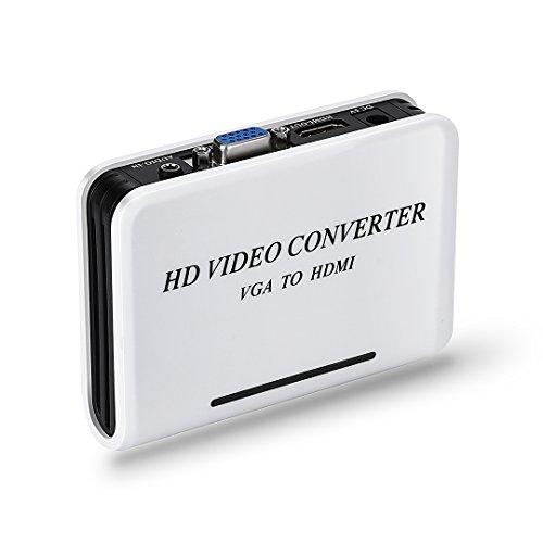 MINI CONVERTITORE DA VGA A HDMI CON AUDIO