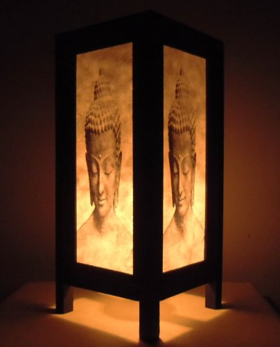 rare-asie-thai-lampe-de-tables-bouddha-style-chevet-tete-buddha-par-thailande