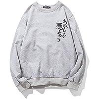 Fat XL Mens nuevo invierno sweater T - Shirt Printing Fat XL Mens Jersey,Light Grey,3XL
