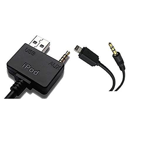 SAMTECH Kia & Hyundai iPod / iPhone / iPad Lightning 8pin to USB AUX Cable Adaptor Adapter for iPhone 5 5s 6 6Plus 6s