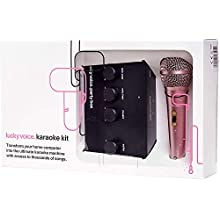 Lucky Voice Karaoke Machine - Home Singing Machine with Microphone that's Perfect Fun for Adults, Kids and Families - Compatible with Mac, PC, iOS and Android Devices With Access to Over 9,000 Songs