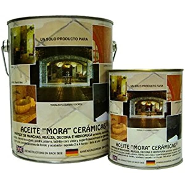 Aceite Mora especial para baldosas y suelos de barro cocido ...