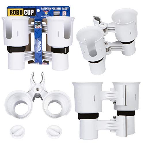 Robocup 12Farben, Best Getränkehalter für Getränke, Angel/Stock, Boot, Strand Stuhl, Golf Cart, Rollstuhl, Walker, Drum Sticks, Mikrofon Ständer