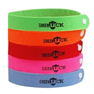 Bracelets Anti-Moustiques Répulsif | x 10 Par Paquet | Multicolore