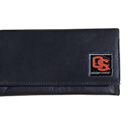 Oregon St. Beavers Women's Leather Wallet