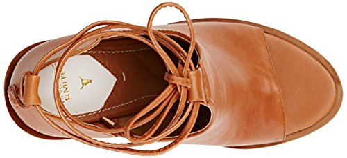 Windsor Smith Tiara Leather, Scarpe con Tacco a Punta Aperta Donna Marrone (Tan)