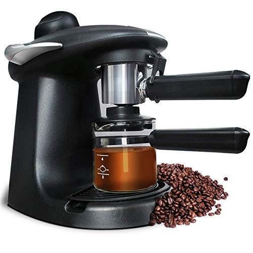 L@LILI Kaffeemaschine 250 ML Italienische Espresso Automatische Elektrische Kaffeemaschine Cappuccino Milch Milch Schäumer Dampf 5BAR 220 V