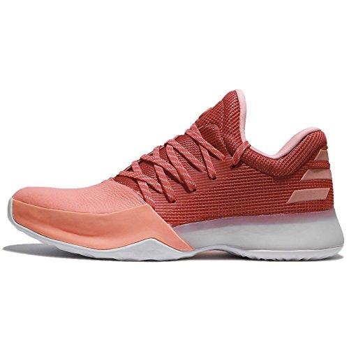 adidas Herren Harden VOL. 1 Basketballschuhe Rot (Chalk Coral S18/trace Scarlet S18/grey One F17)