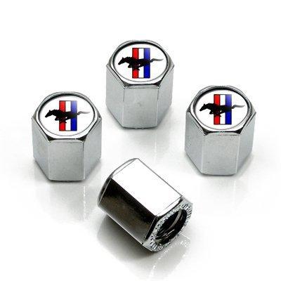 ford-mustang-tri-bar-logo-chrome-reifenschaft-ventilkappen