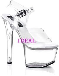 903b33a7e6862a 17 zentimeter crystal hochhackigen schuhe durchsichtigen sandalen  abendkleid und high heels