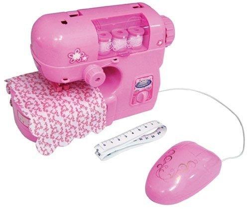 Kinder Nähmaschine rosa Kindernähmaschine Sewing Machine echte Arbeitsfunktion