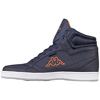 Kappa Herren Forward Low Sneaker, Blau (Navy/Orange), 43 EU