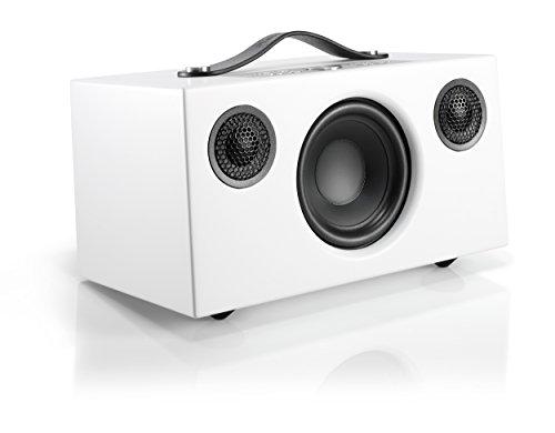 Audio Pro Addon C5 WLAN Multiroom-Lautsprecher (Stereo, Airplay, Bluetooth, WiFi) Weiß