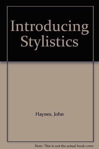 Introducing Stylistics PDF Books
