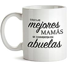 Taza – Taza de café blanca con mensaje – Taza de graduación para abuelas – Estándar – Taza de café como regalo del Día de la Madre – Regalo ideal para abuelas primerizas