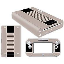 Nintendo Wii U Skin Design Foils Pegatina Set - Retro NES Motivo