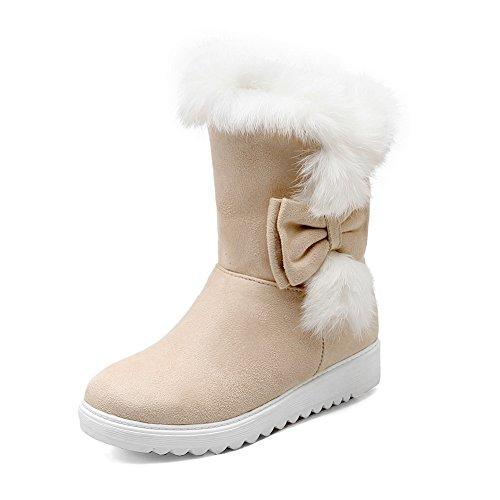 1TO9 - Stivali da Neve donna Beige