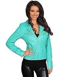 Veste turquoise femme