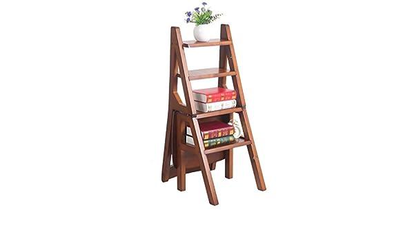 Step arrampicata sgabelli alti in legno massello dual use