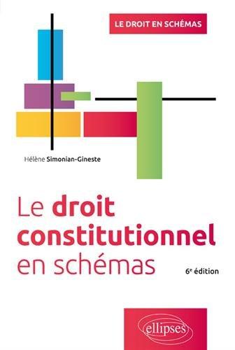 Le Droit Constitutionnel en Schémas par Hélène Simonian-Gineste