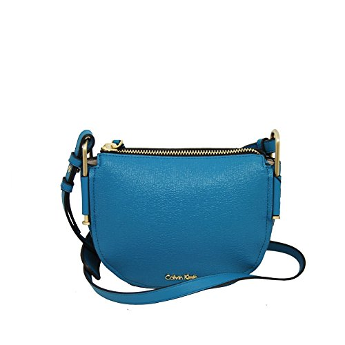 Calvin Klein Jeans Borsa Donna a Sacca con Tracolla Allungabile K60K603859-Enamel Blue