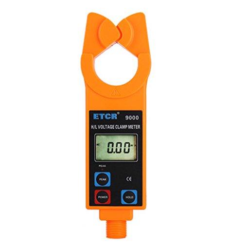 Multímetro Amperimetrica Digital, Monitor de corriente de CA en línea Amperímetro digital de alta/baja tensión con pinza amperimétrica de corriente de fuga de CA ETCR9000 Clamp Meter