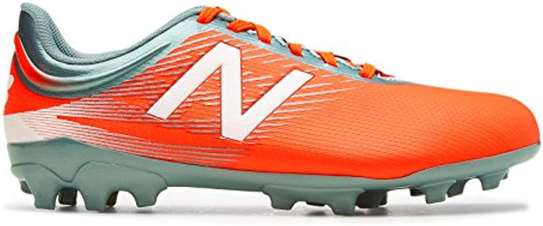 Bota de Fútbol New Balance Furon 2.0 Dispatch AG Niño Alpha Orange-Grey