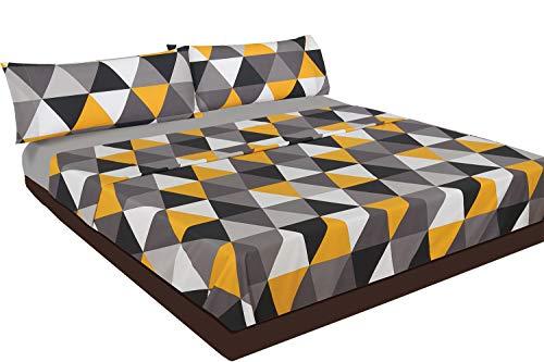 Juego de sábanas Estampado (Triangle, para Cama de 150x190/200)