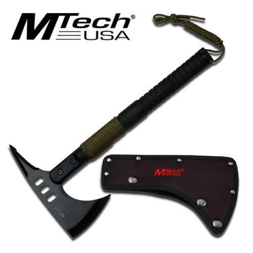 Mt-axe10 Mtech Usa Tactical Tomahawk 9cmjvpbgb0b Axe with Survival Kits Steel Fixed Knife Fix Lrnk224v5 Blade Hunt Camping Camp by nozhevistos