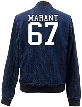 Marant 67 Bomber Chaqueta Girls Jeans Certified Freak