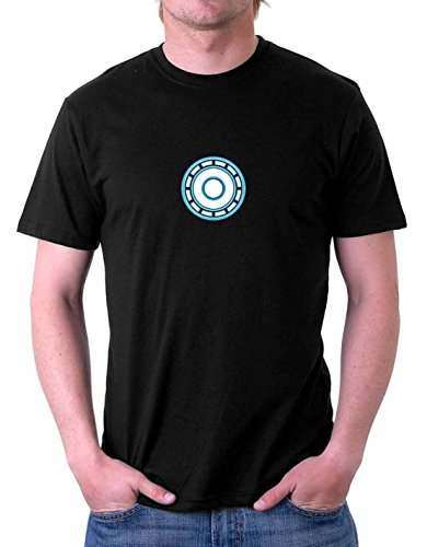 The Souled Store Men's Arc Reactor Cotton T-Shirt