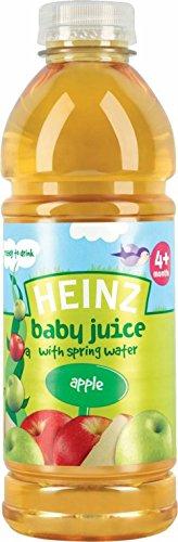 Heinz Babysaft Mit Quellwasser 4Mth + Apfel (750 Ml)